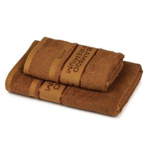 4Home Bamboo Premium törölköző és fürdőlepedő szett barna 8afbb3f55e