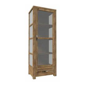 Háromoldalú vitrín szekrény W1D