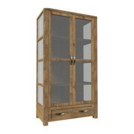 Háromoldalú vitrín szekrény W2D