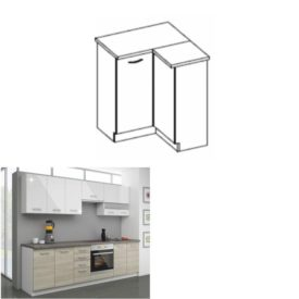 Konyhai alsó szekrény  90/90 DN ZB