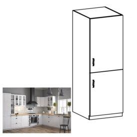 alsószekrény a beépíthető hűtő számára D60ZL