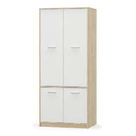 4- ajtós akasztós szekrény