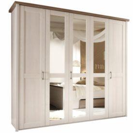 5-ajtós szekrény