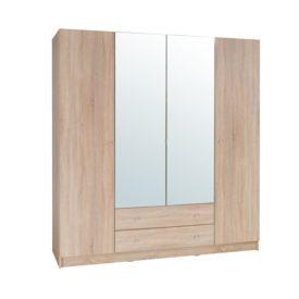 4-ajtós szekrény