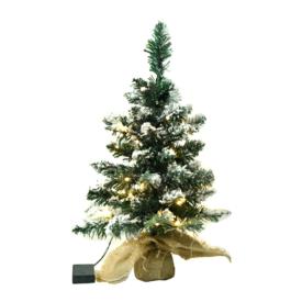 Karácsonyfa fényekkel
