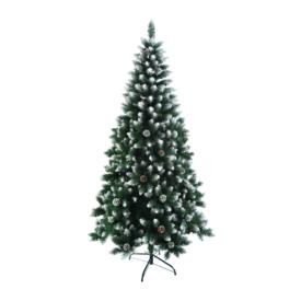 Karácsonyfa tobozokkal