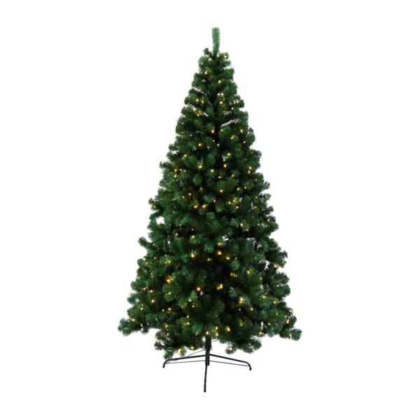 3D karácsonyfa fényekkel