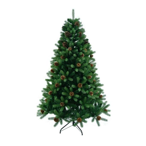 3D karácsonyfa tobozokkal