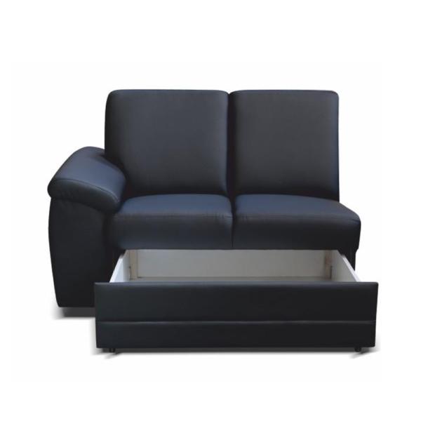 2-személyes kanapé támasztékokkal