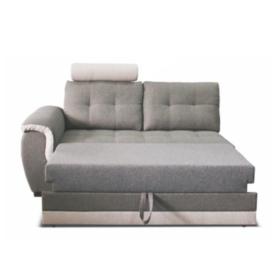 2-személyes kanapé fejtámlával és nyitható funkcióval