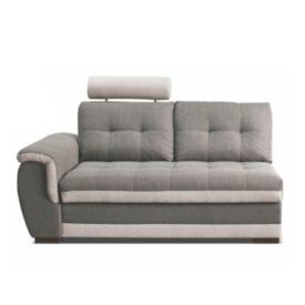 2-személyes kanapé rakodótérrel és fejtámlával