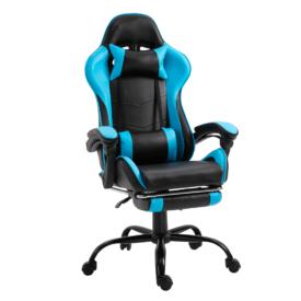 Irodai/gamer fotel lábtartóval
