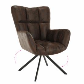 Dizájnos pörgő fotel