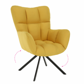 Dizájnos forgó fotel