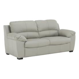 Bőr 3 személyes kanapé