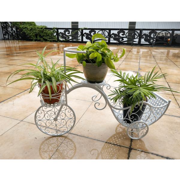 Kerékpár alakú RETRO virágcserép