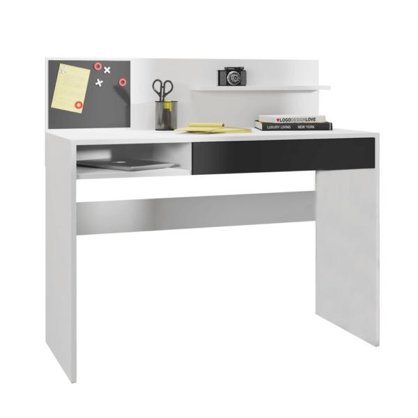Számítógépasztal mágneses táblával