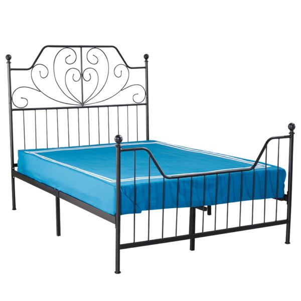 Fém ágy ágyráccsal