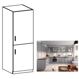 Szekrény beépíthető hűtőre
