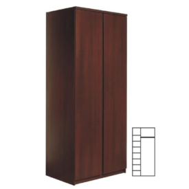 2 ajtós szekrény