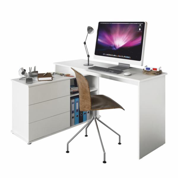 Univerzális sarok PC asztal