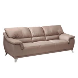 Bőr 3-személyes kanapé