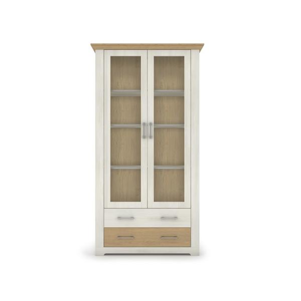 Vitrines szekrény