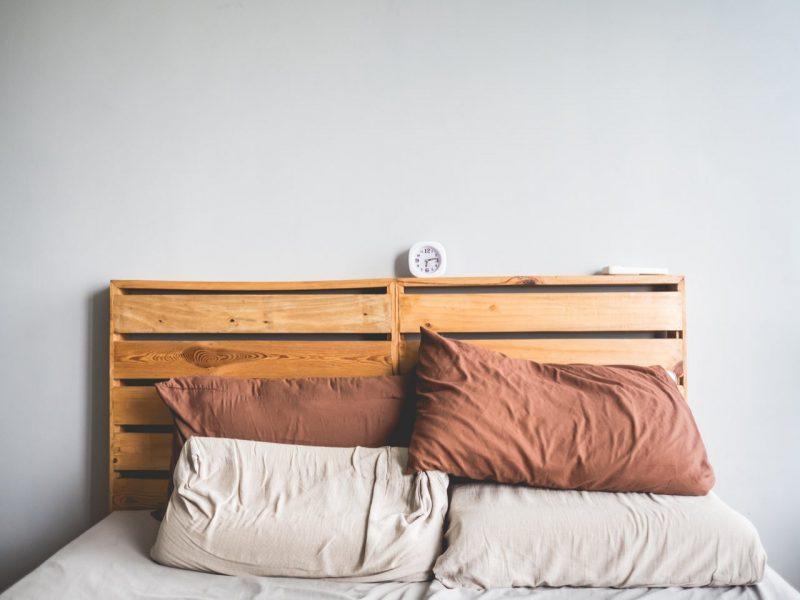 ágy raklapokból